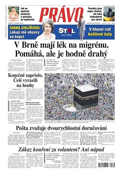 Právo - 13-08-2019 - Elektronické noviny
