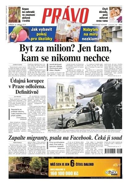 Právo - 14-08-2019 - Elektronické noviny