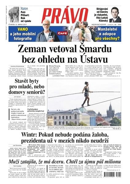 Právo - 15-08-2019 - Elektronické noviny