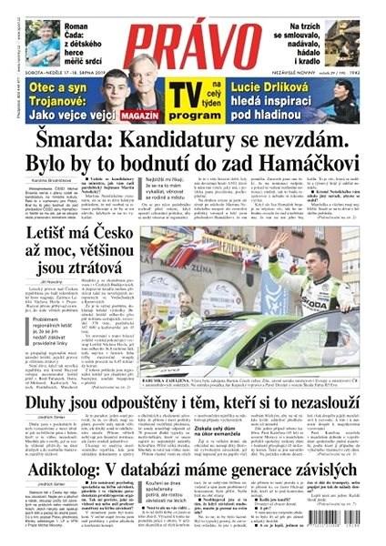 Právo - 17-08-2019 - Elektronické noviny
