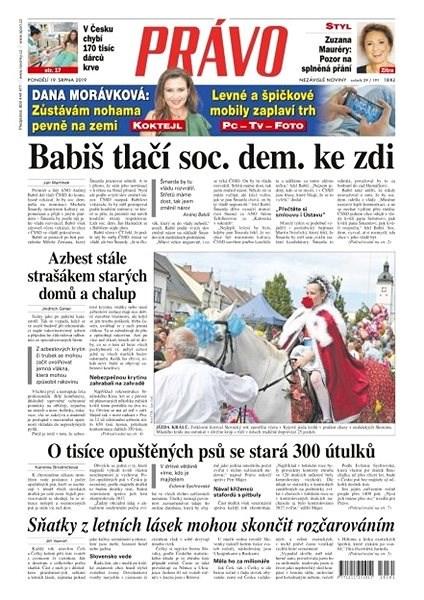 Právo - 19-08-2019 - Elektronické noviny