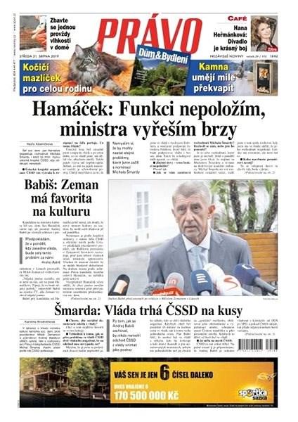 Právo - 21-08-2019 - Elektronické noviny