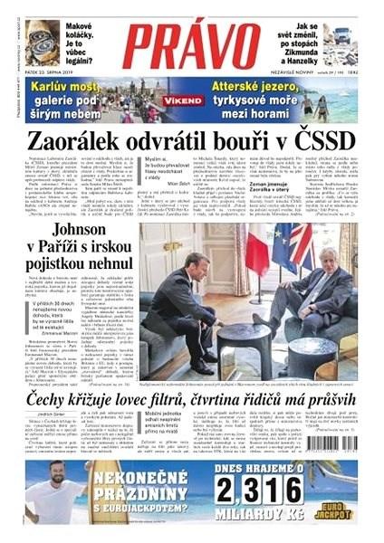 Právo - 23-08-2019 - Elektronické noviny