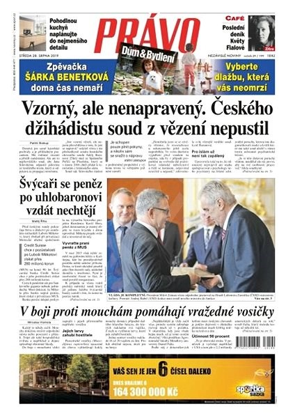 Právo - 28-08-2019 - Elektronické noviny