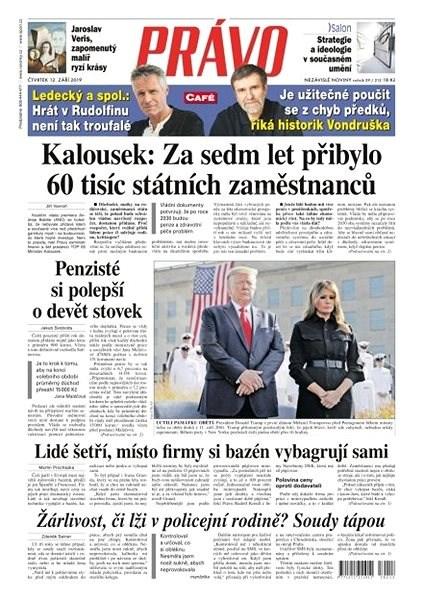 Právo - 12-09-2019 - Elektronické noviny