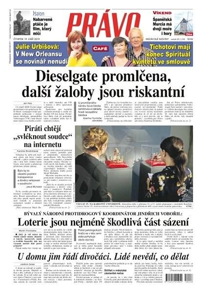 Právo - 19-09-2019 - Elektronické noviny