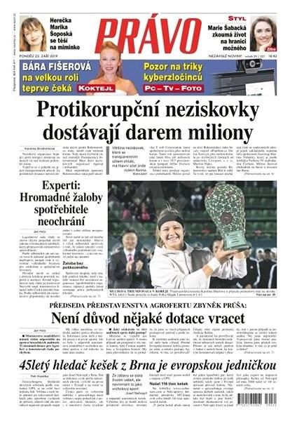 Právo - 23-09-2019 - Elektronické noviny