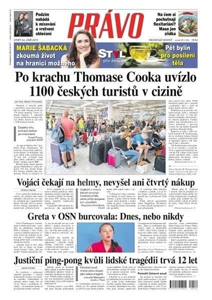 Právo - 24-09-2019 - Elektronické noviny