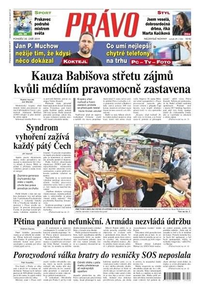 Právo - 30-09-2019 - Elektronické noviny