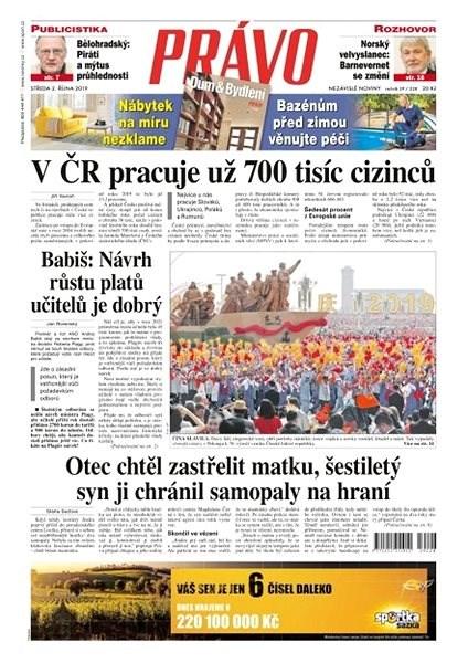 Právo - 02-10-2019 - Elektronické noviny
