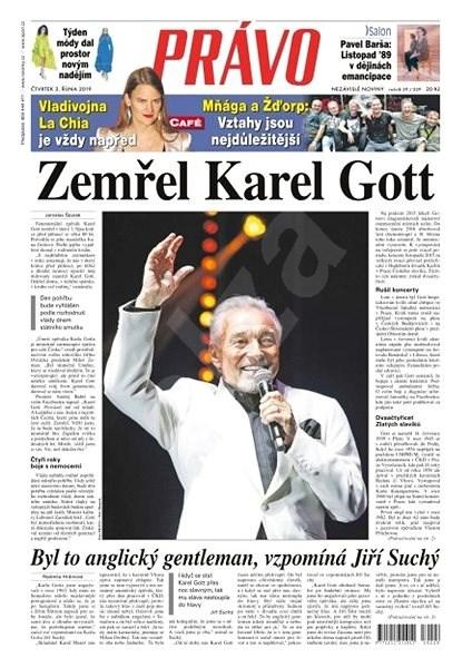 Právo - 03-10-2019 - Elektronické noviny