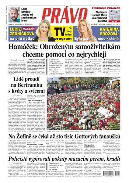 Právo - 05-10-2019 - Elektronické noviny