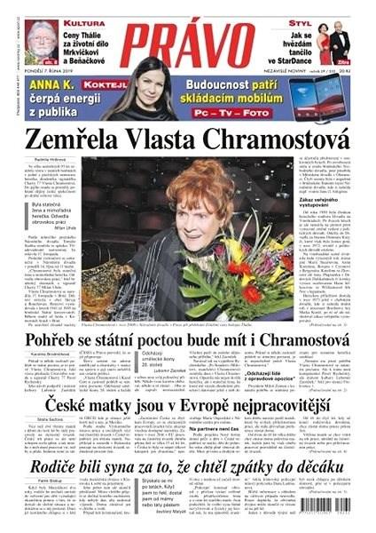 Právo - 07-10-2019 - Elektronické noviny