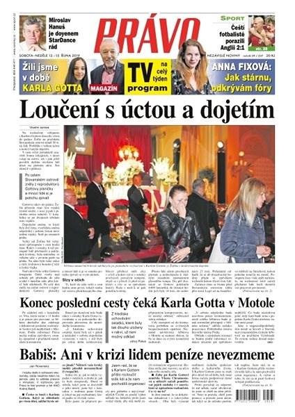 Právo - 12-10-2019 - Elektronické noviny