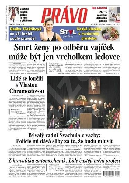 Právo - 15-10-2019 - Elektronické noviny