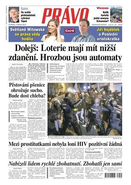 Právo - 17-10-2019 - Elektronické noviny