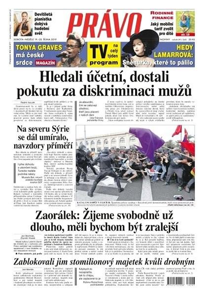 Právo - 19-10-2019 - Elektronické noviny