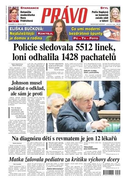 Právo - 21-10-2019 - Elektronické noviny