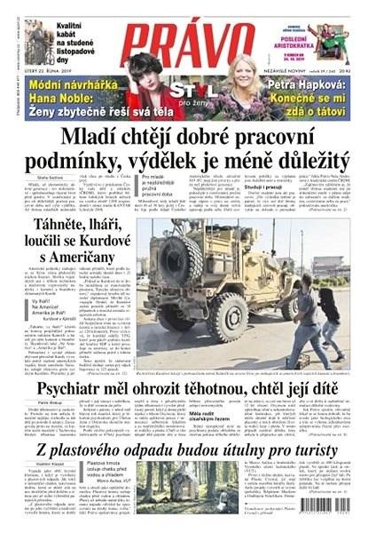 Právo - 22-10-2019 - Elektronické noviny