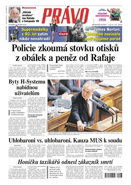 Právo - 24-10-2019 - Elektronické noviny