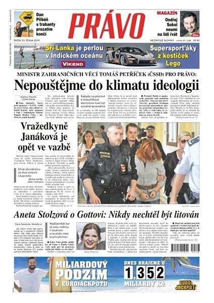 Právo - 25-10-2019 - Elektronické noviny