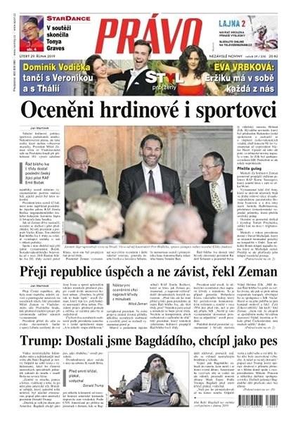 Právo - 29-10-2019 - Elektronické noviny