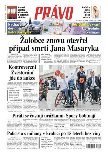 Právo - 30-10-2019 - Elektronické noviny