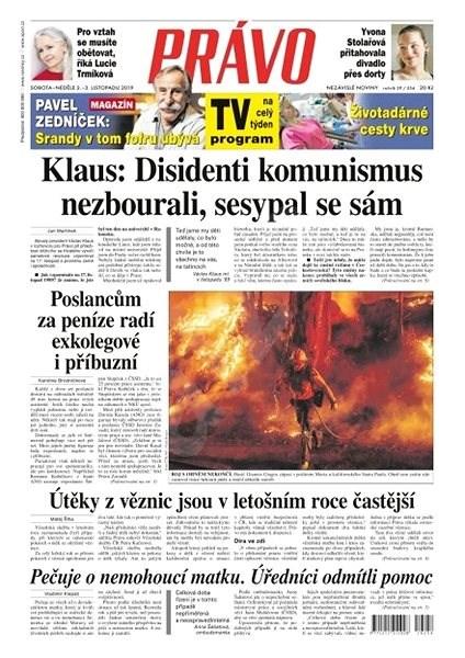 Právo - 02-11-2019 - Elektronické noviny