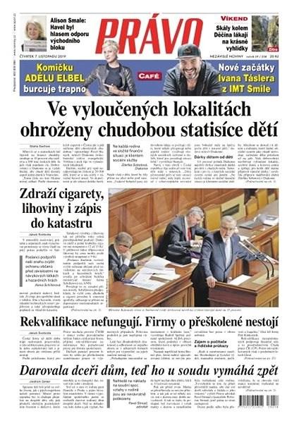 Právo - 07-11-2019 - Elektronické noviny