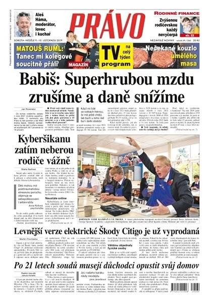 Právo - 09-11-2019 - Elektronické noviny