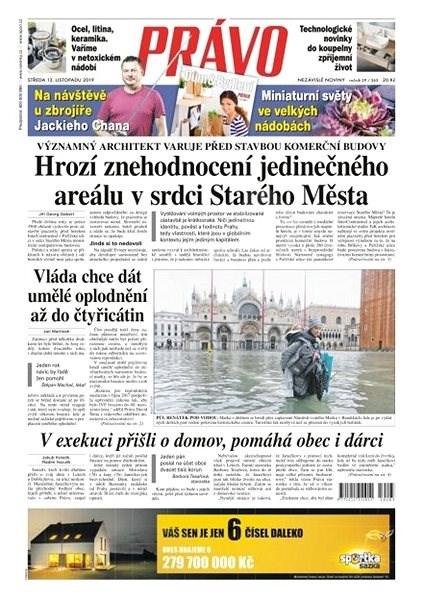 Právo - 13-11-2019 - Elektronické noviny
