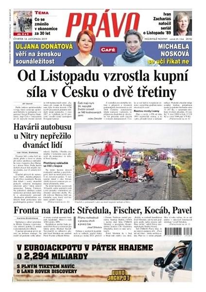 Právo - 14-11-2019 - Elektronické noviny