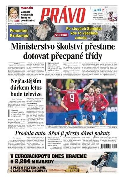 Právo - 15-11-2019 - Elektronické noviny