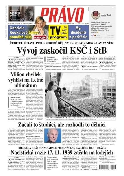 Právo - 16-11-2019 - Elektronické noviny