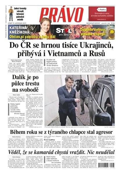 Právo - 19-11-2019 - Elektronické noviny