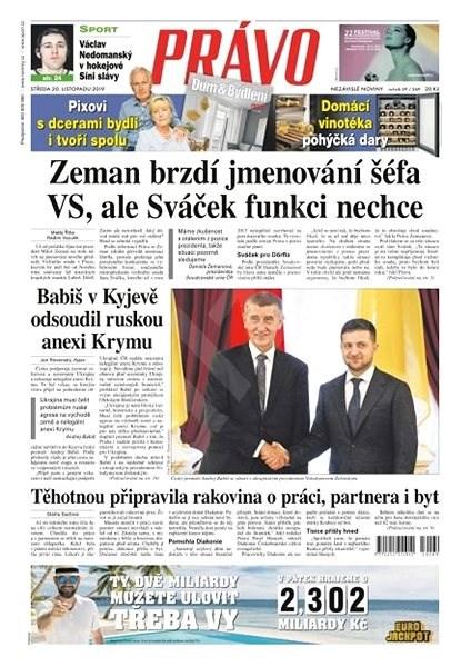 Právo - 20-11-2019 - Elektronické noviny