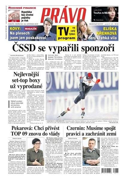Právo - 23-11-2019 - Elektronické noviny