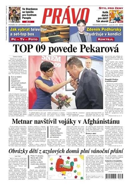 Právo - 25-11-2019 - Elektronické noviny