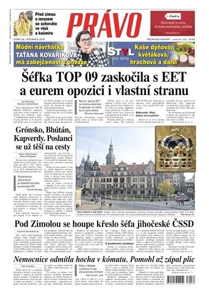 Právo - 26-11-2019 - Elektronické noviny