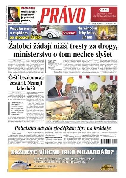 Právo - 29-11-2019 - Elektronické noviny