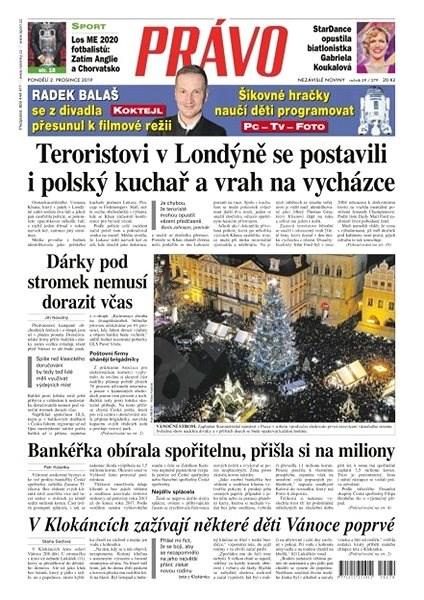 Právo - 02-12-2019 - Elektronické noviny