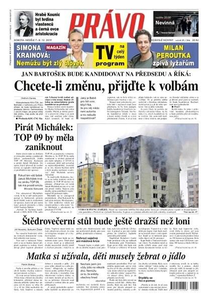 Právo - 07-12-2019 - Elektronické noviny