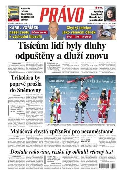 Právo - 09-12-2019 - Elektronické noviny