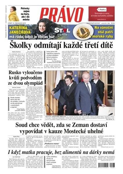 Právo - 10-12-2019 - Elektronické noviny