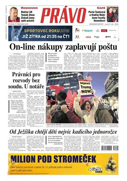 Právo - 19-12-2019 - Elektronické noviny