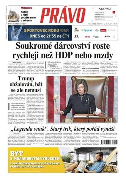 Právo - 20-12-2019 - Elektronické noviny