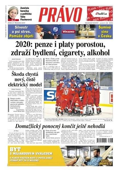 Právo - 27-12-2019 - Elektronické noviny