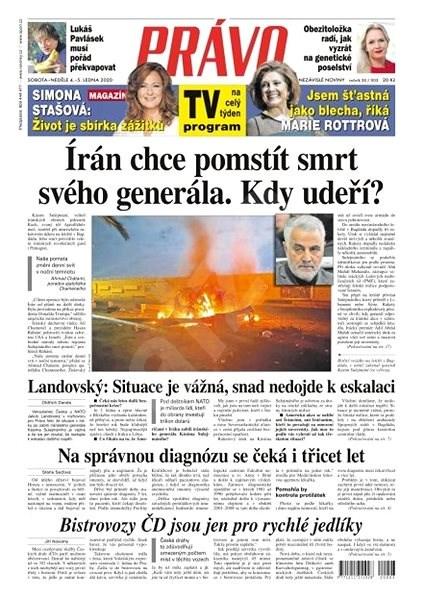 Právo - 04-01-2020 - Elektronické noviny