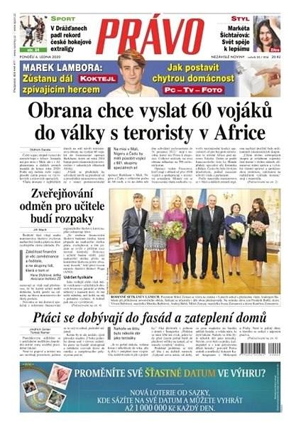 Právo - 06-01-2020 - Elektronické noviny