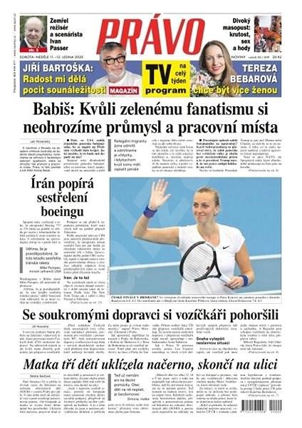 Právo - 11-01-2020 - Elektronické noviny